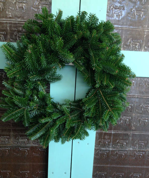 8 inch wire ring wreath | Trimmings by Holly